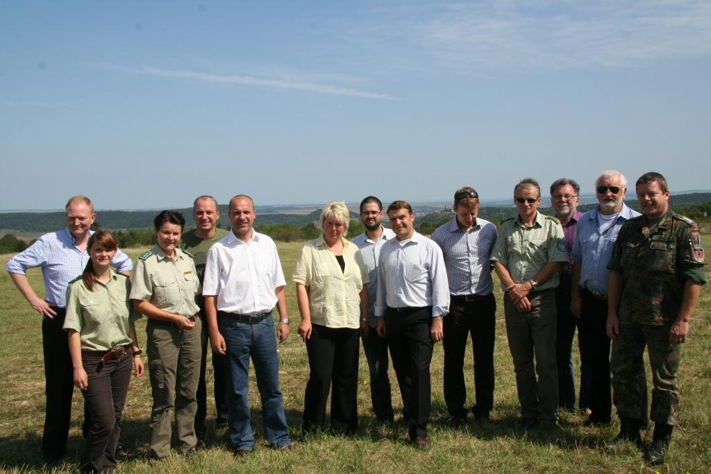 FDP besuchte Truppenübungsplatz in Ohrdruf