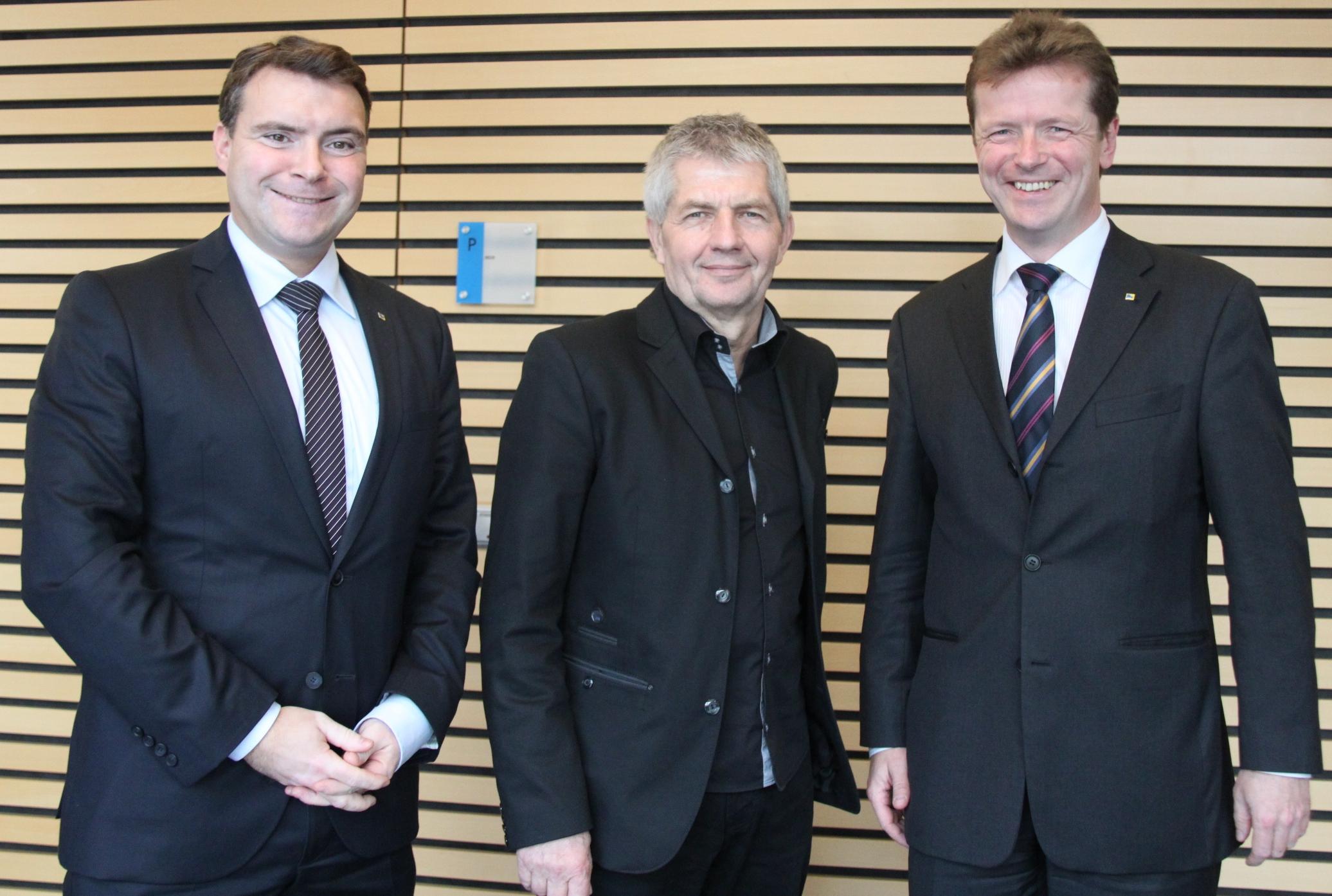 Patrick Kurth, Roland Jahn, Uwe Barth