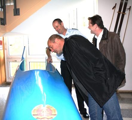 Koppe, Barth, Saar und der legendäre blaue Bob