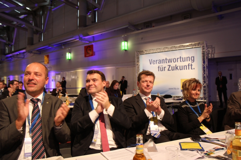 Thüringer Delegierte auf dem Bundesparteitag