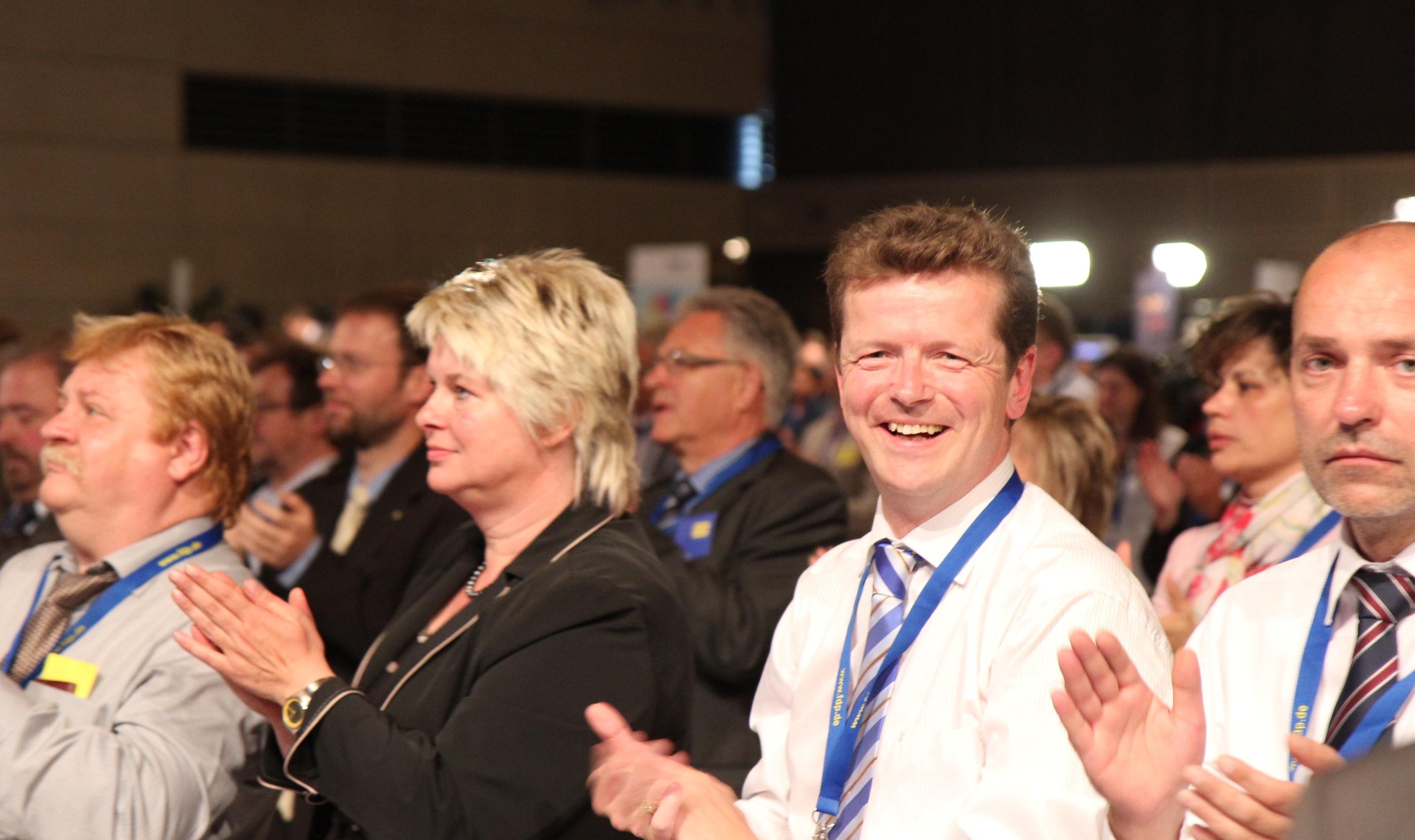 Thüringer Delegierte beim Bundesparteitag
