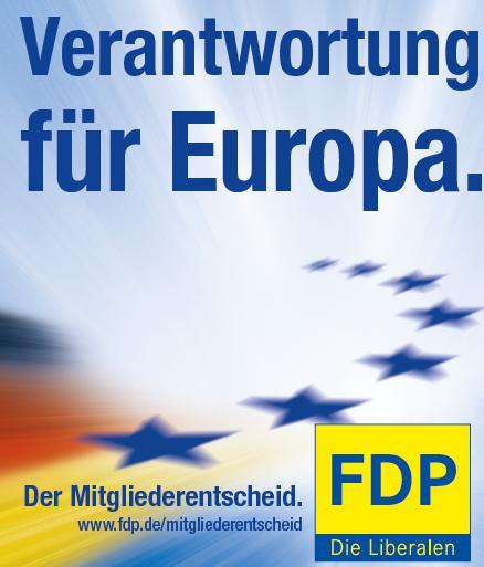 Veranstaltungsreihe zum FDP-Mitgliederentscheid