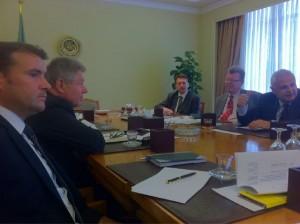 Patrick Kurth, MdB bei Gesprächen in Kairo