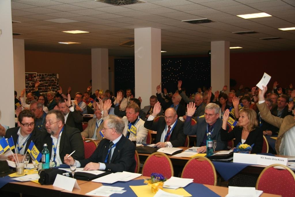 Landesparteitag in Ilmenau