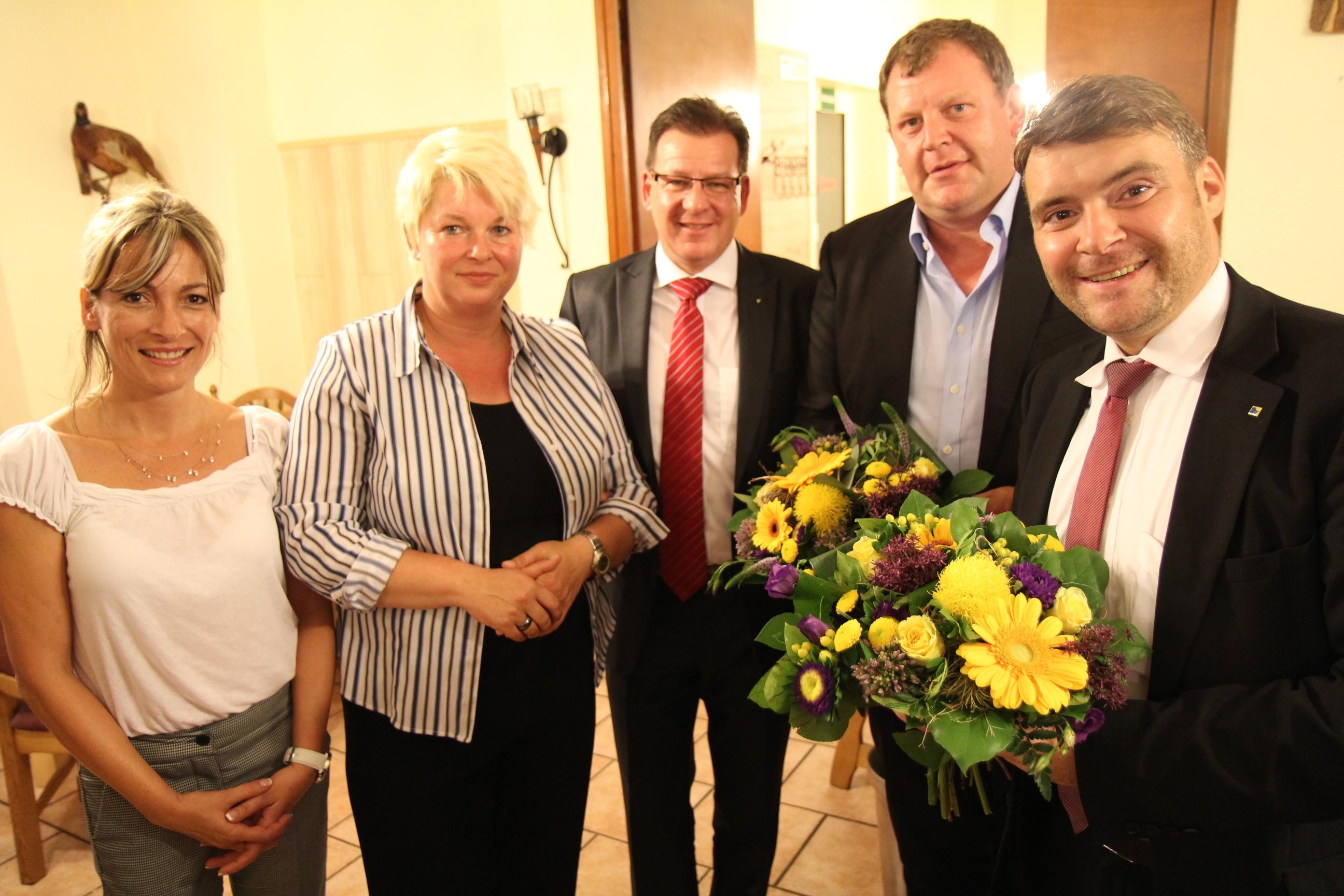 Gratulation an Steffen Dreiling und Patrick Kurth