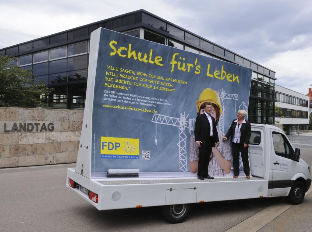 FDP-Landtagsfraktion startet Bildungskampagne
