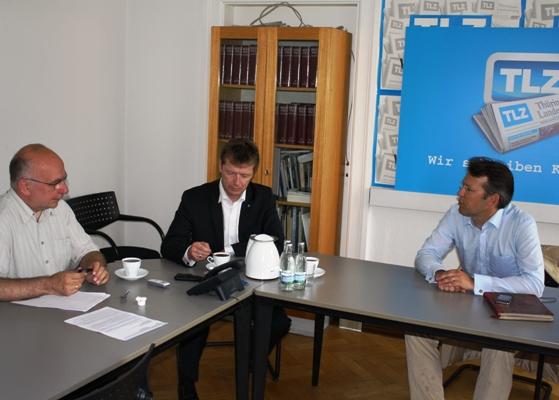 MdB Otto Fricke zu Gast bei der TLZ