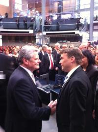 Joachim Gauck und Patrick Kurth, MdB