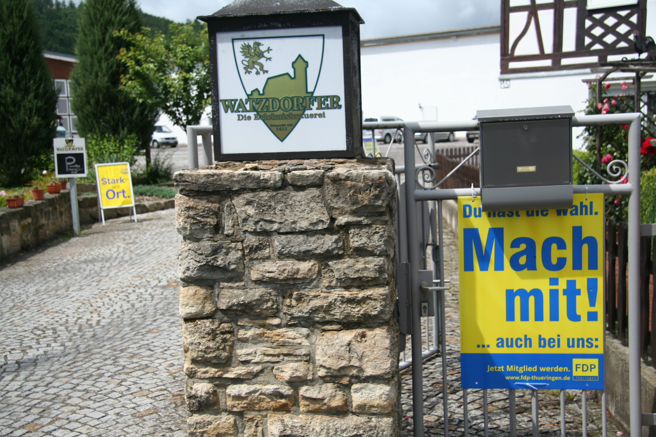 FDP-Sommerfest in Watzdorf