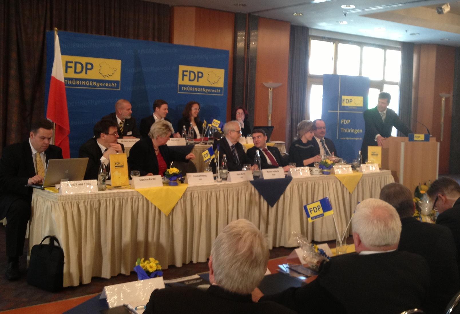 FDP Landesparteitag in Weimar