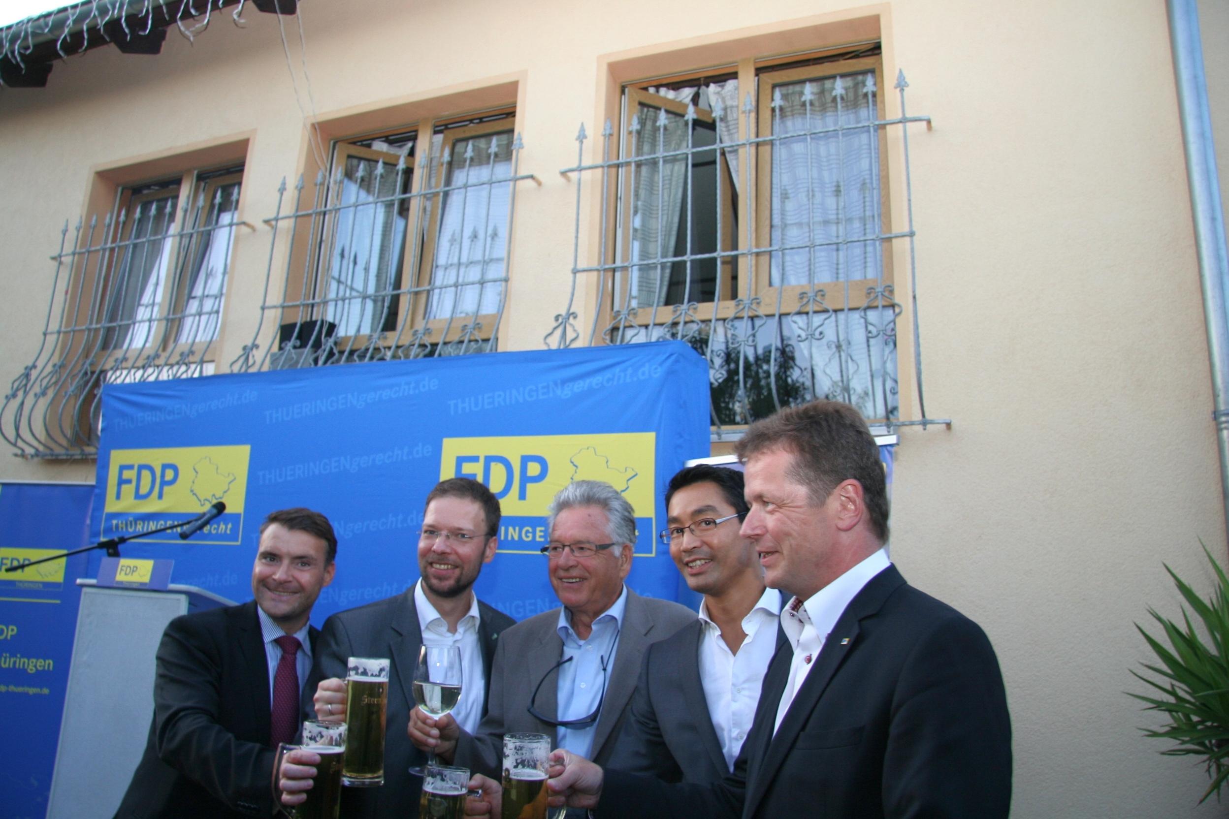 FDP-Chef Rösler in Jena