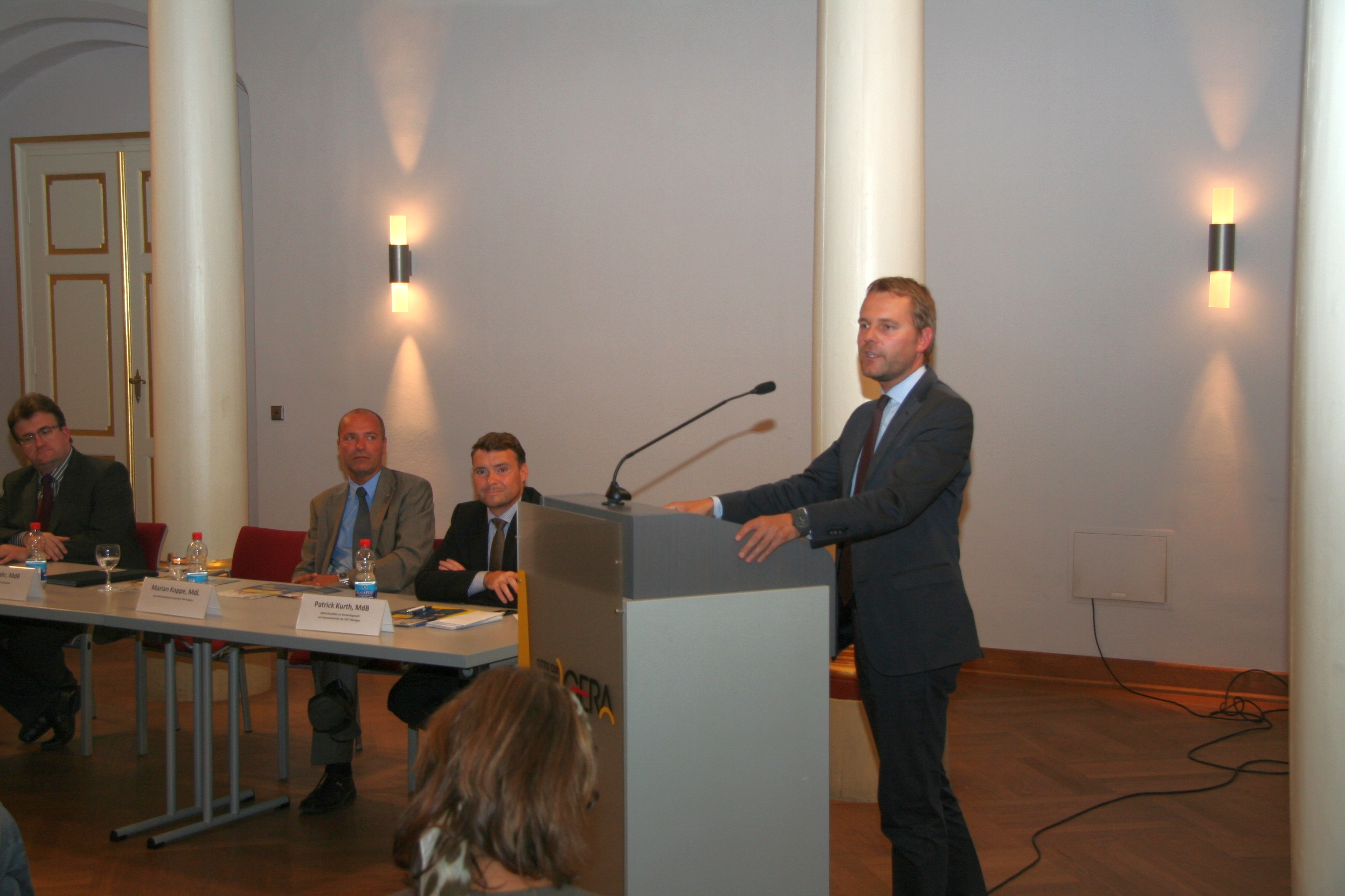 Bundesgesundheitsminister Bahr in Thüringen