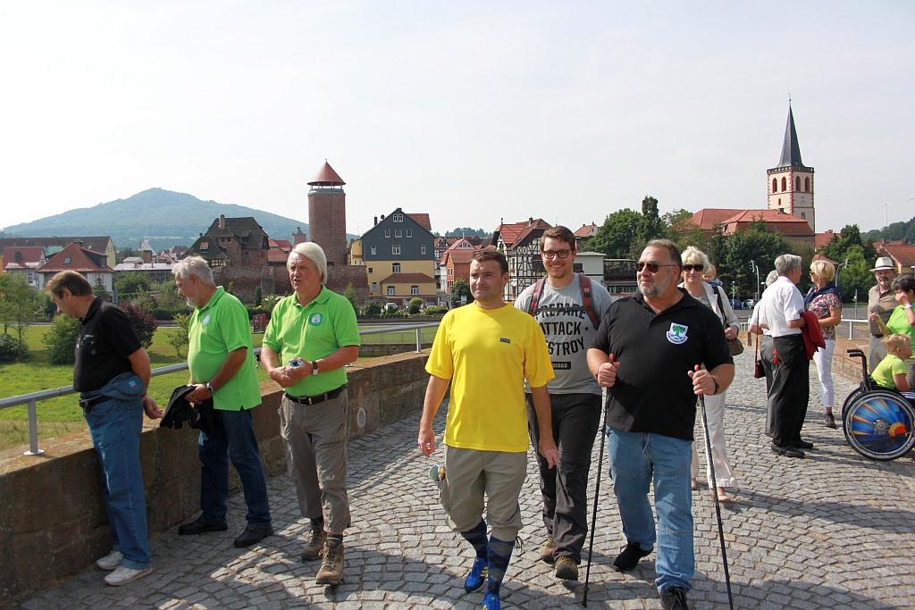 Wanderung an der ehemaligen innerdeutschen Grenze
