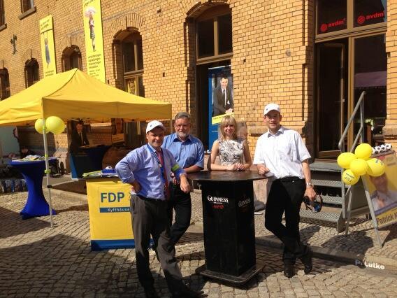 Stand von Patrick Kurth, MdB auf Thüringentag