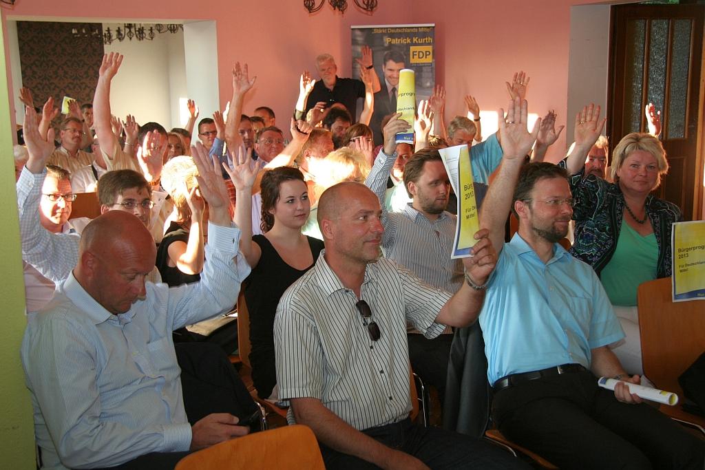 FDP beschließt Kurzwahlprogramm