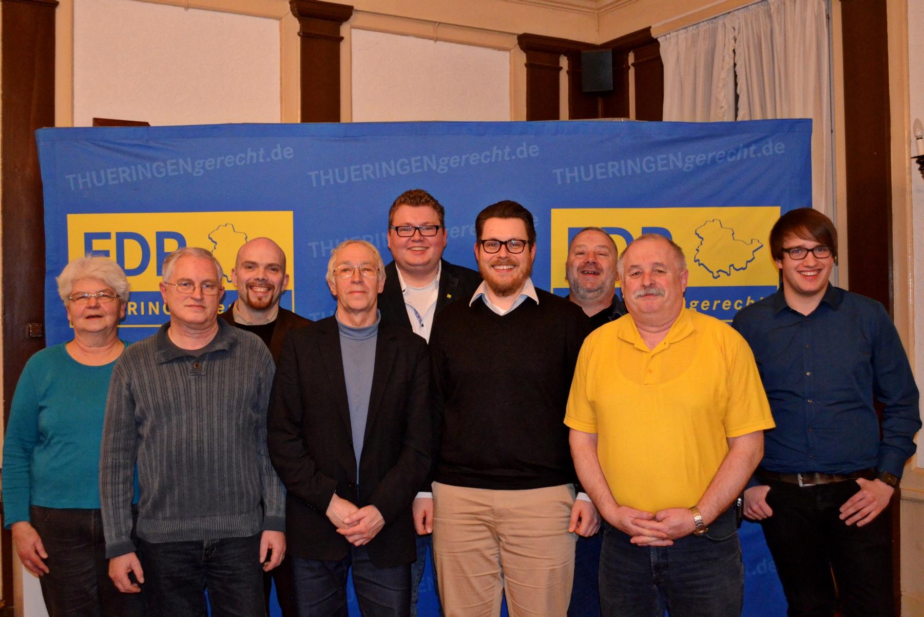Kreistagskandidaten FDP Wartburgkreis
