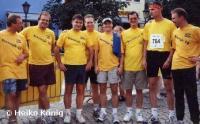Erfolgreiche Laufgruppe 2002