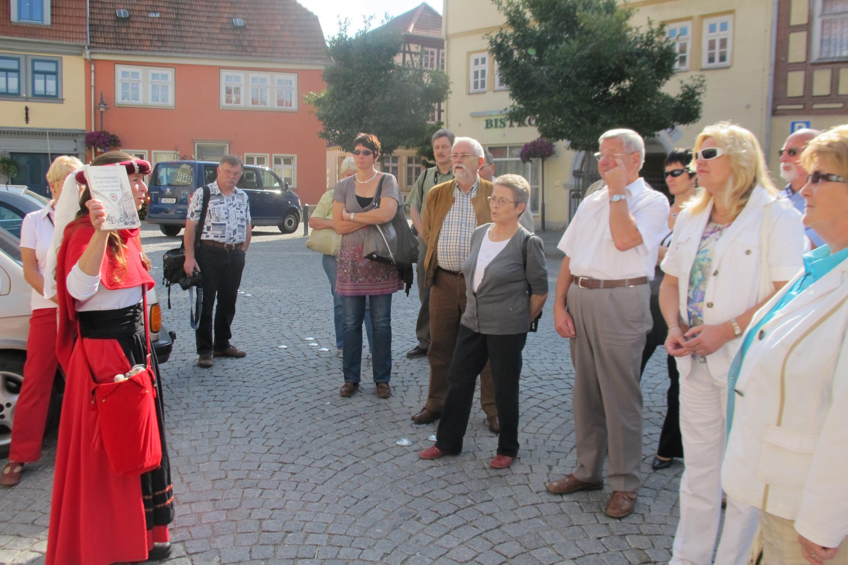 Stadtführung mit Mary Fischer