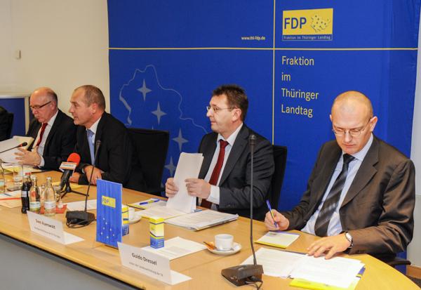 Pressekonferenz der FDP mit Vertretern der Kassen