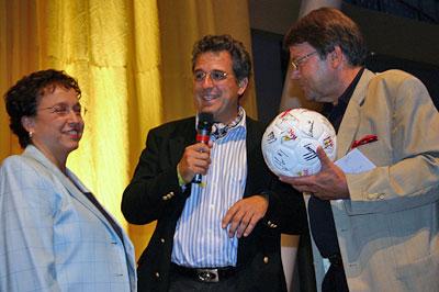 Fußball der Deutschen Meister geht nach Weimar