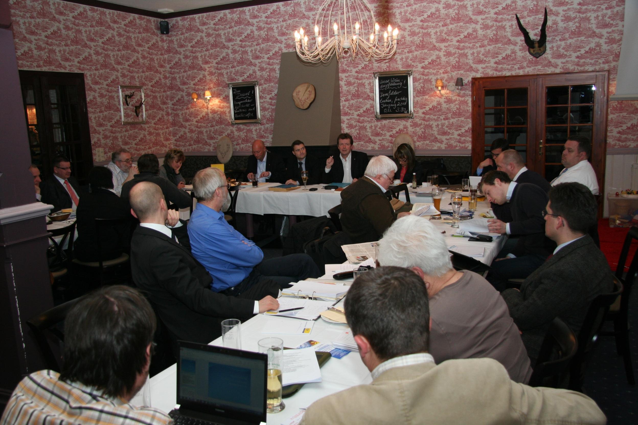 Landesparteiratssitzung 27.02.2012