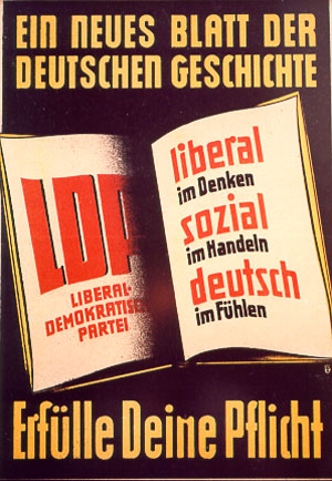 LDP-Wahlplakat 1948