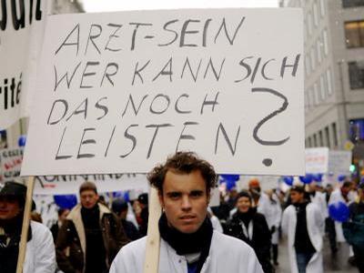 Ärzte im Streik