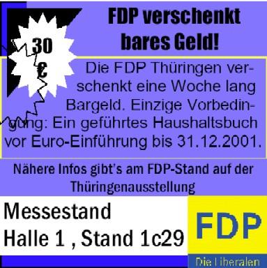 30 € von der FDP