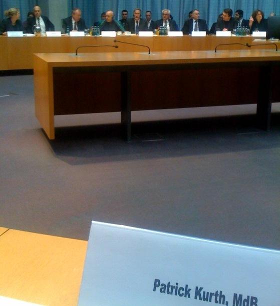 Präsident Karzai im Auswärtigen Ausschuss