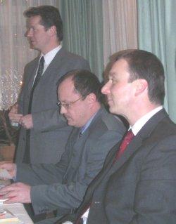 Uwe Barth, Dirk Bergner, Jürgen Gnauck