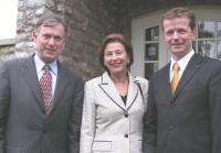 Uwe Barth, Bundespräsident Köhler nebst Gattin
