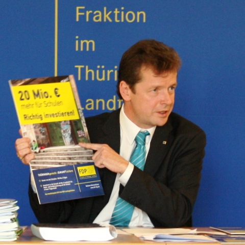 FDP-Chef Uwe Barth