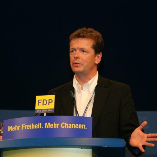 Uwe Barth zum Parteitag in Stuttgart
