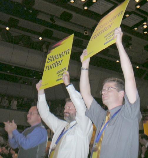 Uwe Barth und Lutz Recknagel zum Bundesparteitag