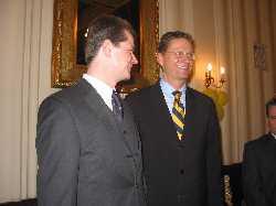 Uwe Barth und Guido Westerwelle