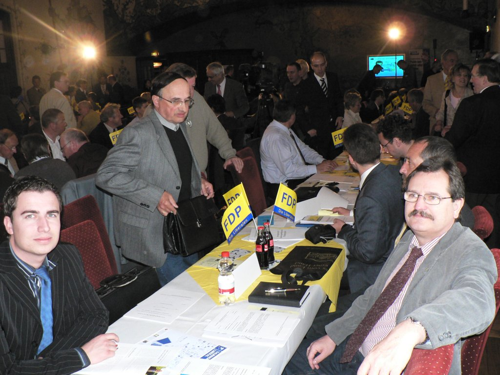 FDP Thüringen - Landesparteitag auf der Wartburg