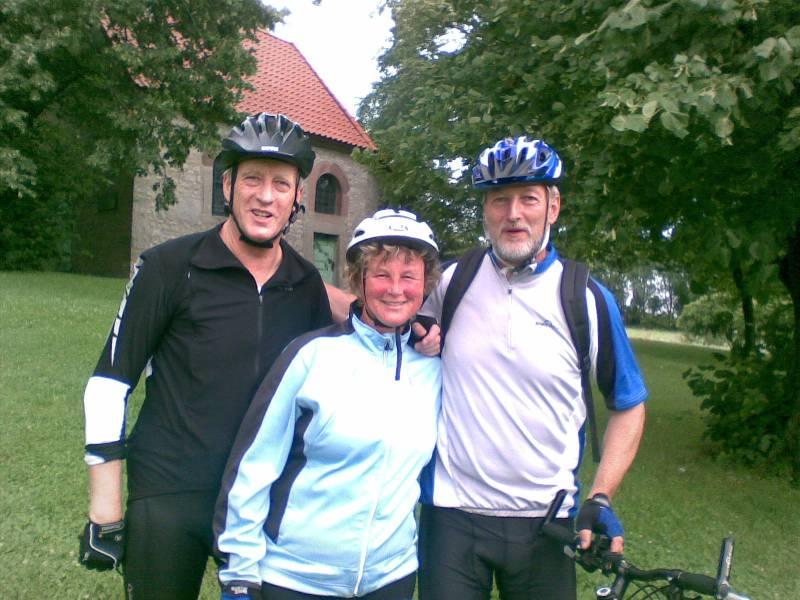 Team Bollwahn am 25.07.2009 mit einer Rad-Wanderung übers Eichsfeld unterwegs