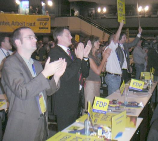 Thüringer Liberale bestätigen Wahlaufruf