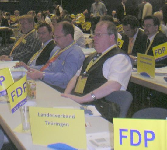 Thüringer Delegierte zum Bundesparteitag
