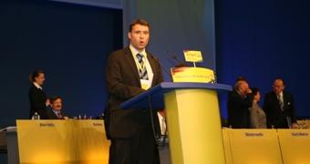 Thüringer FDP Generalsekretär, Patrick Kurth MdB
