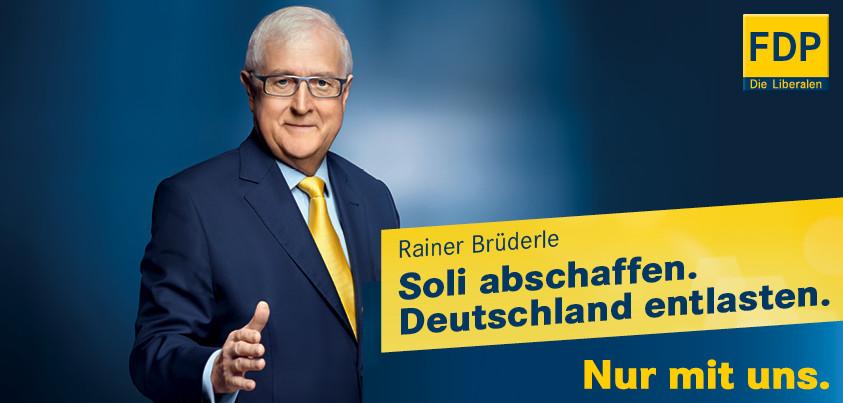 FDP: Solidaritätsbeitrag abschaffen