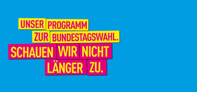 Bundestagswahl 2017: Schauen wir nicht länger zu