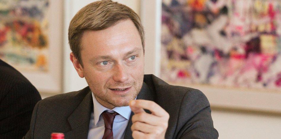 Bundesvorsitzender C. Lindner, MdL