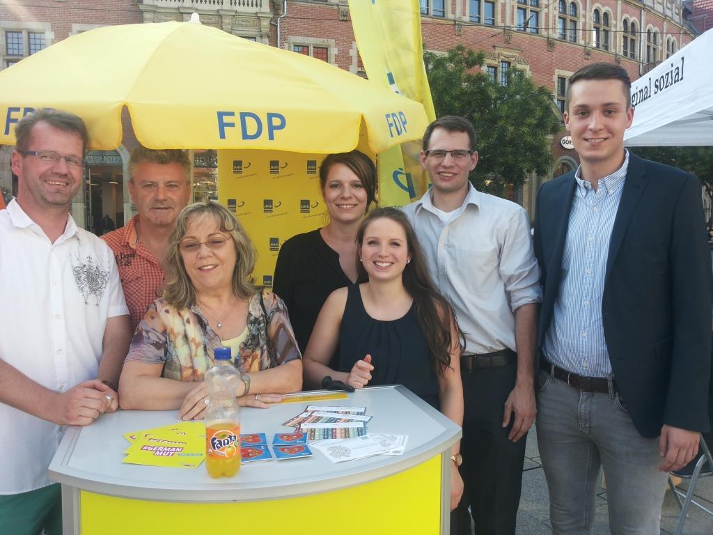 Thüringer Liberale beim CSD
