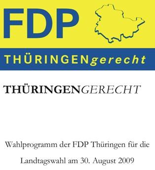 Wahlprogramm der FDP Thüringen