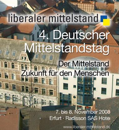 Deutscher Mittelstandstag in Erfurt