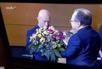 Dirk Bergner gratuliert dem Ministerpräsidenten
