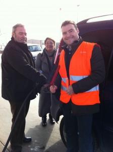 Heinz Untermann, MdL und Patrick Kurth, MdB