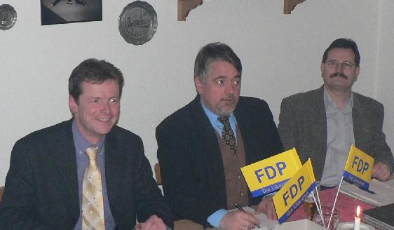 Uwe Barth, Martin Hennig und Peter Zimmermann