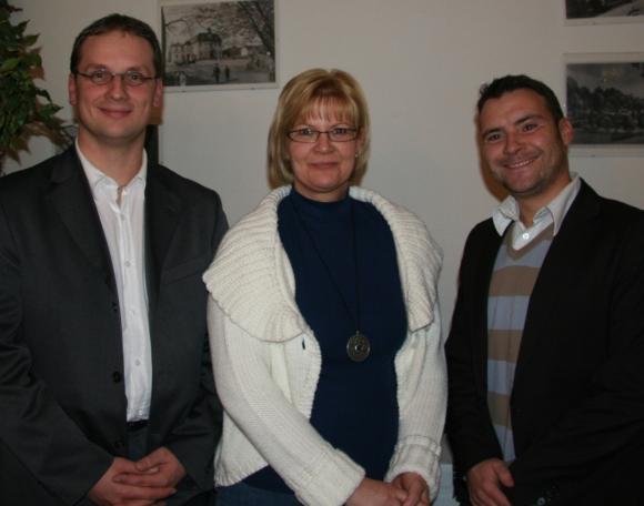 Daniel Rudloff, Heike Bahn-Schulz, Patrick Kurth